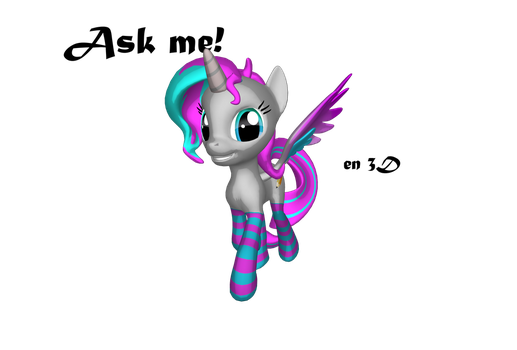 Ask me in 3d by Fionnin4ever