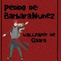Wallpaper de Gaara Pedido:BarbaraNunez by CutinaEditions