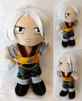 Commission, Mini Plushie Fujin by ThePlushieLady