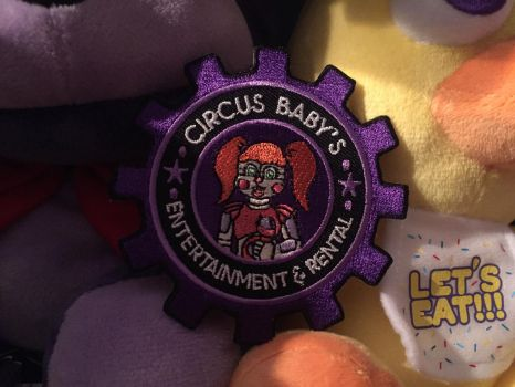 Circus Baby's Entertainment and Rental Patch by Reckless-Royalty