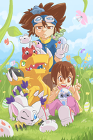 DIGIMON 15th anniversary by CaptainPOZOL