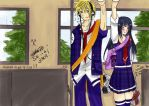 NaruHina - Train Love by Jin-emon