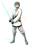 Luke Skywalker - A New Hope by LucianoVecchio
