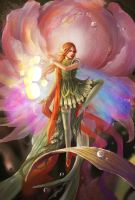Spirit of flower by sinvia