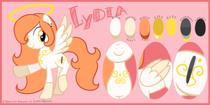 Commission: Lydia reference sheet by Looji