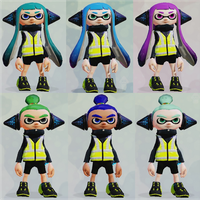 New Inkling OCs: The Agent Squid 6 by Starlight790