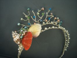 Mermaid headband headpiece by ElnaraNiall