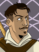 Dorian head shot by lubyelfears