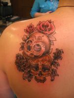 Sugar Skulls by Corgill