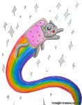 NYAN CAT by TerraTerraCotta
