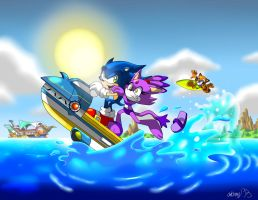 Summer fun in the Sol World. by NextGrandcross