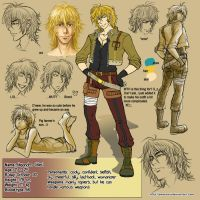 Character sheet - Alec by Amarevia