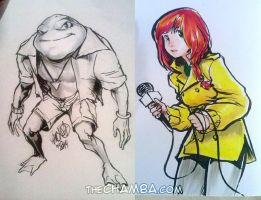 Turtles Friends by theCHAMBA