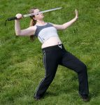 Sword fight reference stock 26 by Random-Acts-Stock