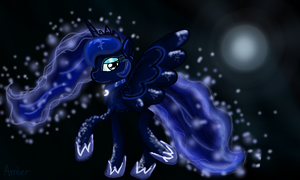 Queen Of The Night by Ambersha