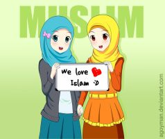 We love Islam! :D by Agoyman