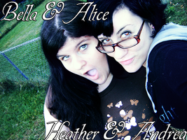 Me and Andrea 2 by Heather-Heartbreak