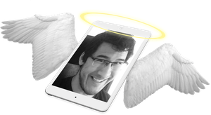 Rest in Peace Markipliers iPad by MonochromicMonologue