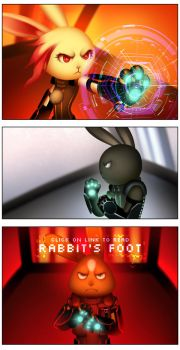 Rabbit's Foot webcomic- LINK in description by lydia-the-hobo