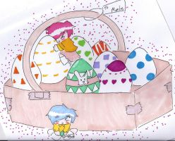 Easter Time by Montemarte