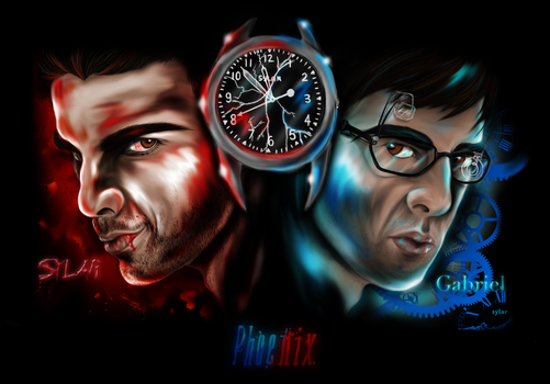 Seven Minutes to Midnight by Phoenix-Cry