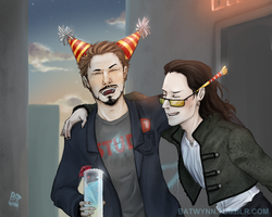 Happy Birthday Tony by Batwynn