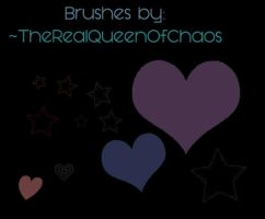 Brushes xD by TheRealQueenOfChaos