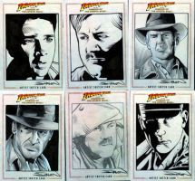 Indiana Jones 4 Sketch Cards 2 by RandySiplon