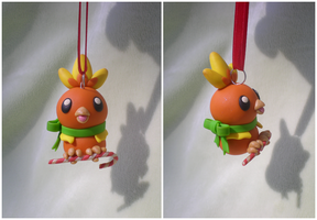 Torchic Ornament