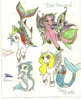 MLP Sea ponies! by Coraline-176