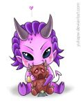 Chibi Slaanesh by YuliaPW