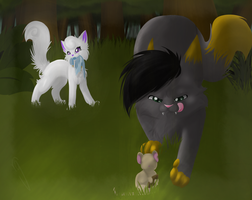 Forest Hunt by AutumLight