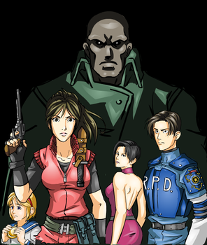 Resident Evil 2 by Crossabre