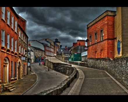HDR 002 - Derry City by Dave-D