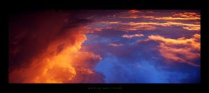 over clouds by caioac