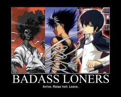 Badass Loners by grimmjack