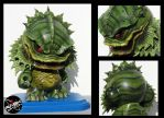 RASK OPTICON creature from the black lagoon Munny by rAskopticon