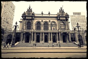 Municipal Theatre by Laura-Skeff