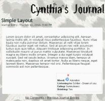 CSS for Cynthia by Little-Vampire