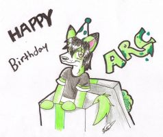 Happy B-Day Arc by BakaPup