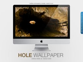 The Hole Wallpaper by MrFolder