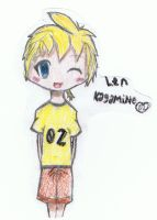 Len-kun Now! by MadokaMagicaRocks