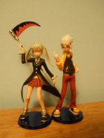 Soul and Maka by Rin-chanx0