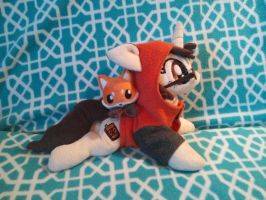 Paw Prints and Foxy 1 by Gracyn