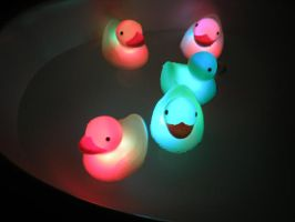 glowing duckies by seductivemistresss