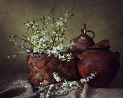 Village spring still life by Daykiney