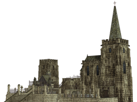 Gothic Church PNG Stock by Jumpfer-Stock