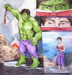 Hulk VS Book by GrimRipper77