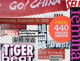 mag.newspaper cuts 23 PNG by gwendo0