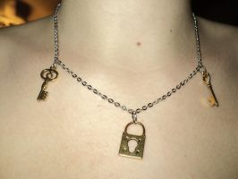 Key To My Heart Necklace by IveGotItMemorized